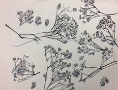 "Marker Study, 18"" x 24"" on Bristol Paper"
