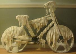 Bicycle, Mixed- Media Sculpture