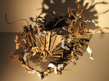 Stairs to Nowhere, Mixed- Media Sculpture