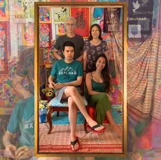 Mixed Family Portrait