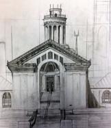 "Pencil Study, 18"" x 24"" on Bristol Paper (detail)"