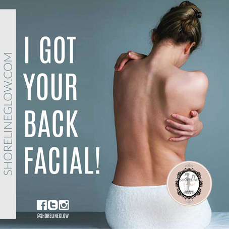 Back Facials in Kitchener-Waterloo