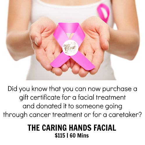 The Caring Hands Facial - Please Donate It.