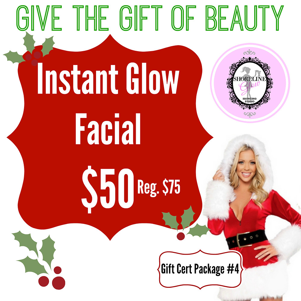 Spa Christmas Package - Instant Glow Facial