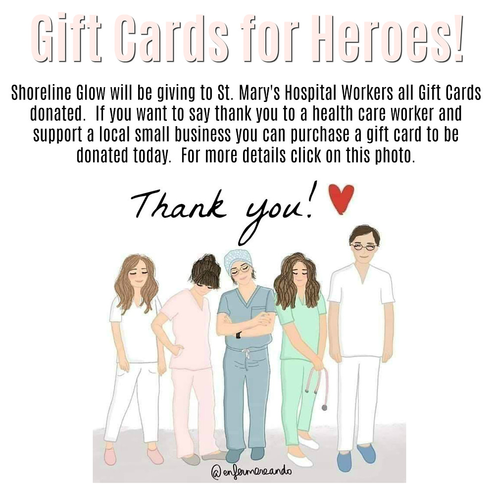Donate a Gift Card for a Health Care or Essential Worker
