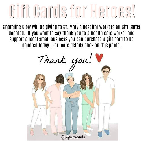 Donate A Gift Card To A Health Care Worker