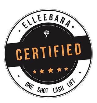 Elleebana Certified Lash Lift Specialist in Kitchener