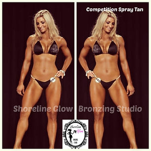 Shoreline Glow Spray Tanning in Kitchener