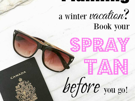 Get a Spray Tan Before Your Vacation