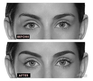 Lash Lifting Before & After Kitchener