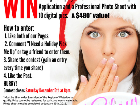 Holiday Makeover & Photo Shoot Giveaway!