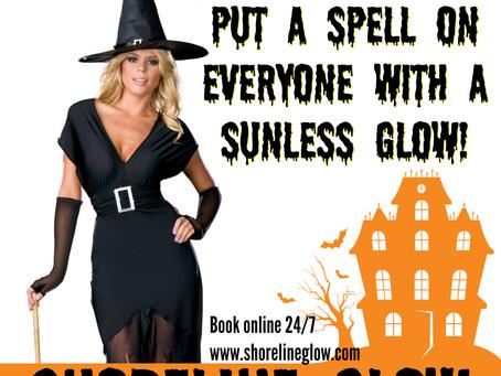 Halloween Spray Tan in Kitchener