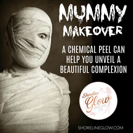 BOO-tiful Skin Is Just One Peel Away!