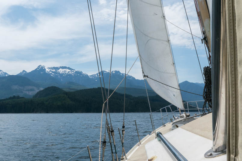 Ocean Watch in the Inside Passage, BC