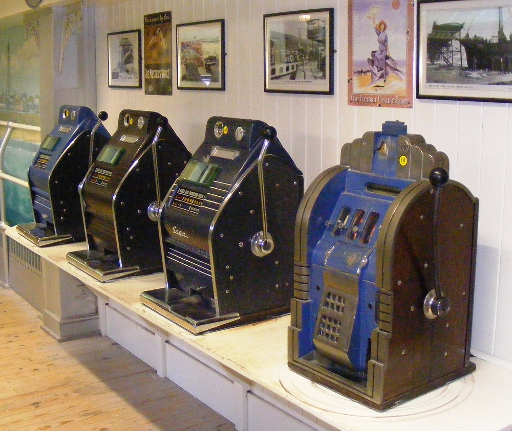 SEGA Diamond Star slot machine, fruit machine, one arm bandit