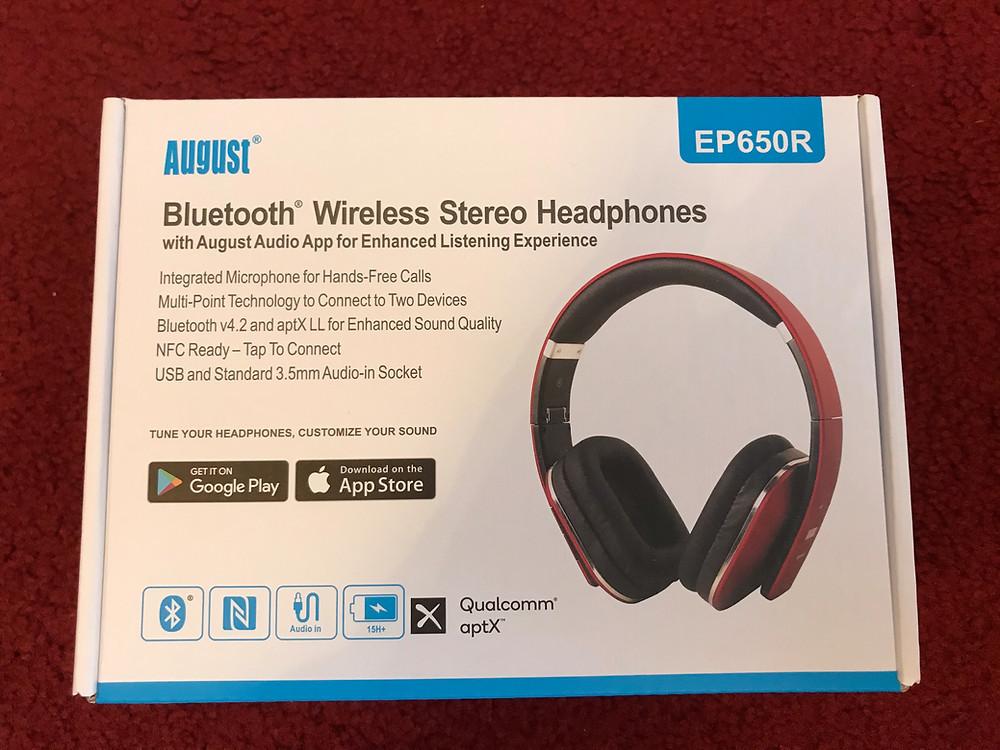 August EP650 Bluetooth Wireless Headphones