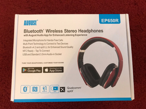 August EP650 Bluetooth Wireless Headphones Review