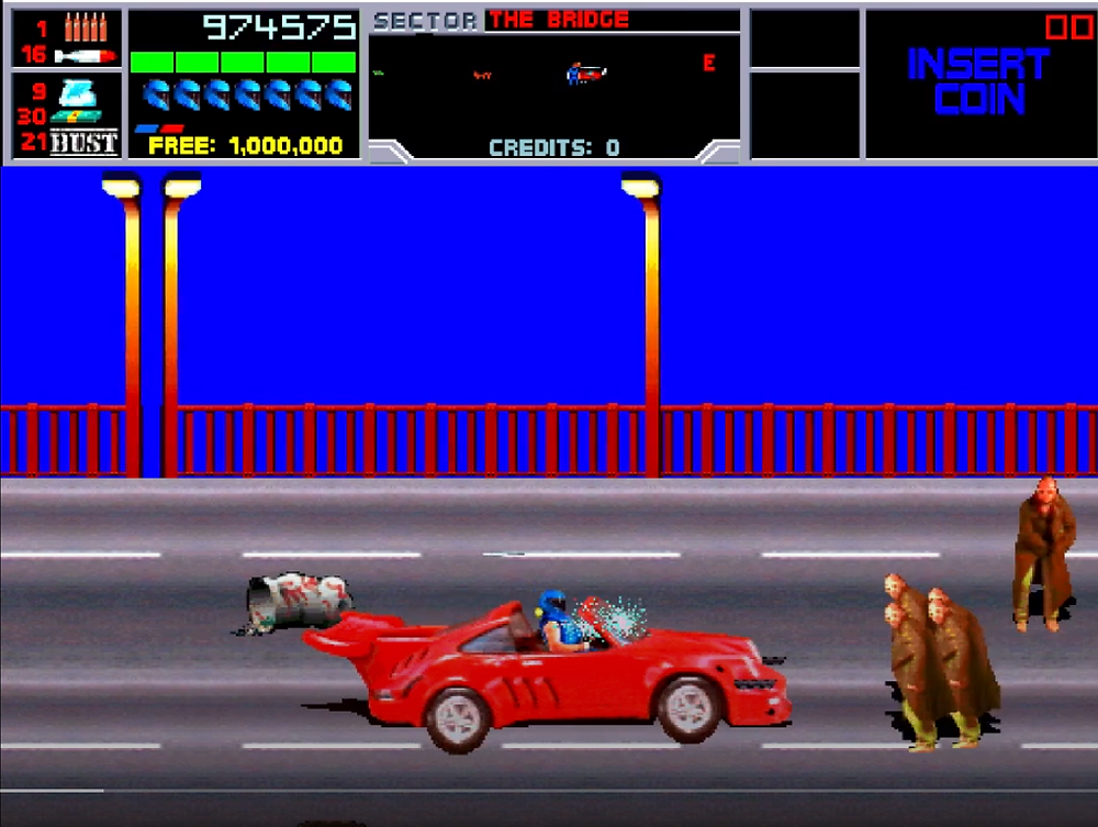 N.A.R.C. Driving Stage
