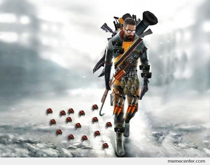 Gordon Freeman Half Life Weapons