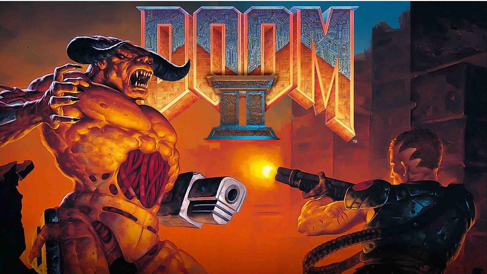 Doom 2 Box Art