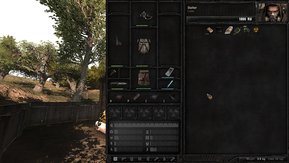 S.T.A.L.K.E.R. Anomaly Survival Guide Inventory