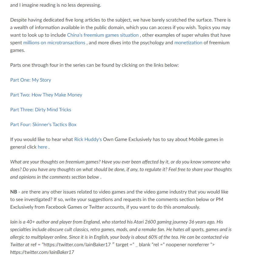 Stolen Exclusively Games article screenshot