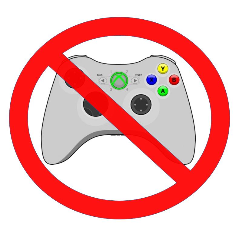 No Control for You!