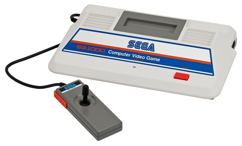 SEGA's first home console, the SG-1000