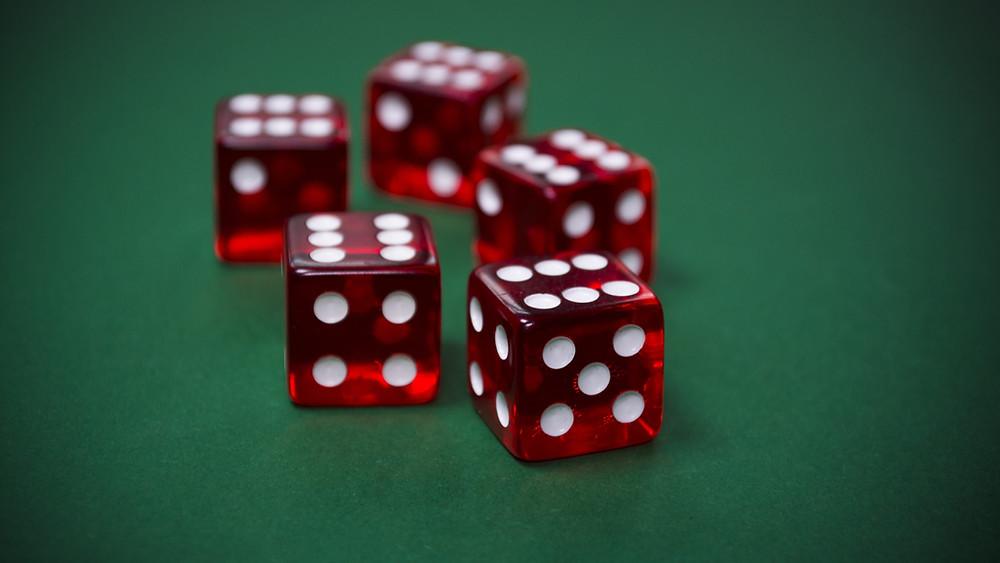 Gambling, freemium gaming, dice