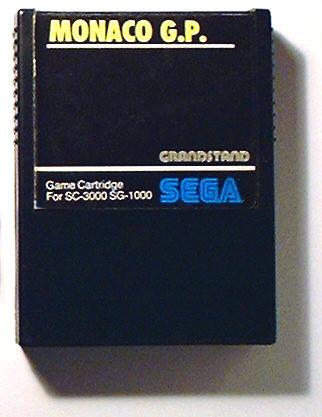SEGA SG-1000 compatible Monaco GP Game cartridge