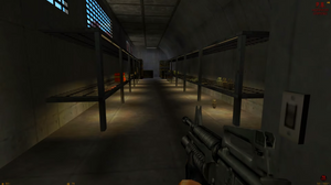 The infamous armory from Half Life has a lot of ammo.  You will need it. All of it.