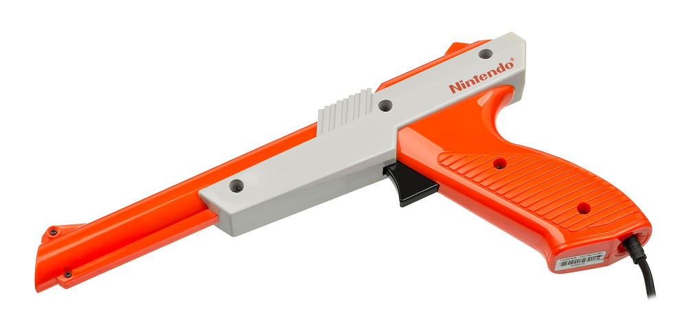 Redesigned NES Zapper Light Gun