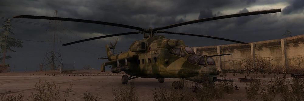 S.T.A.L.K.E.R. Mi-24 Hind