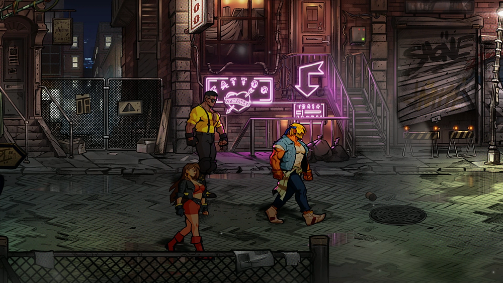 Streets of Rage 4 Axel, Blaze, Adam