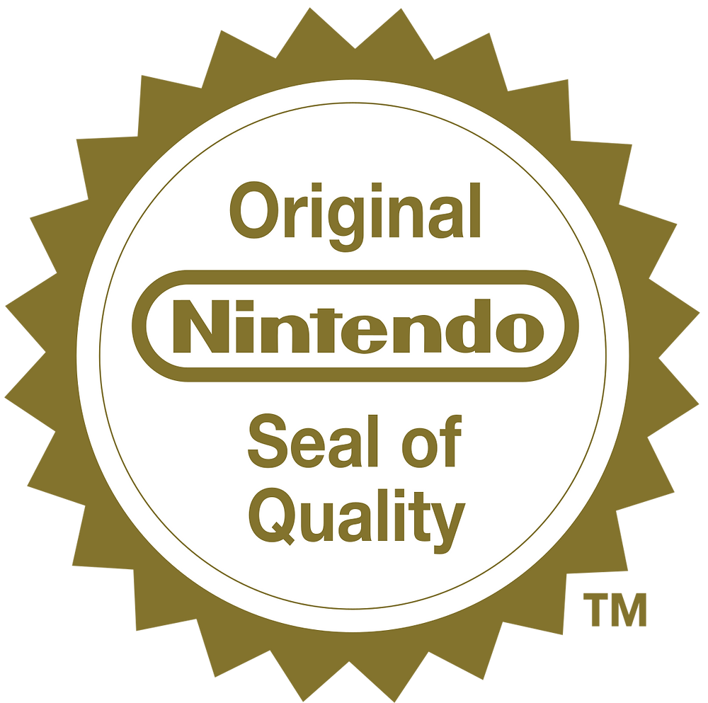 The Official Nintendo Seal of Quality