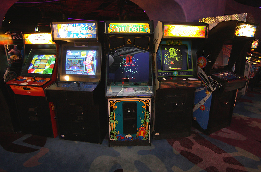 Coin-op Video Arcade cabinets