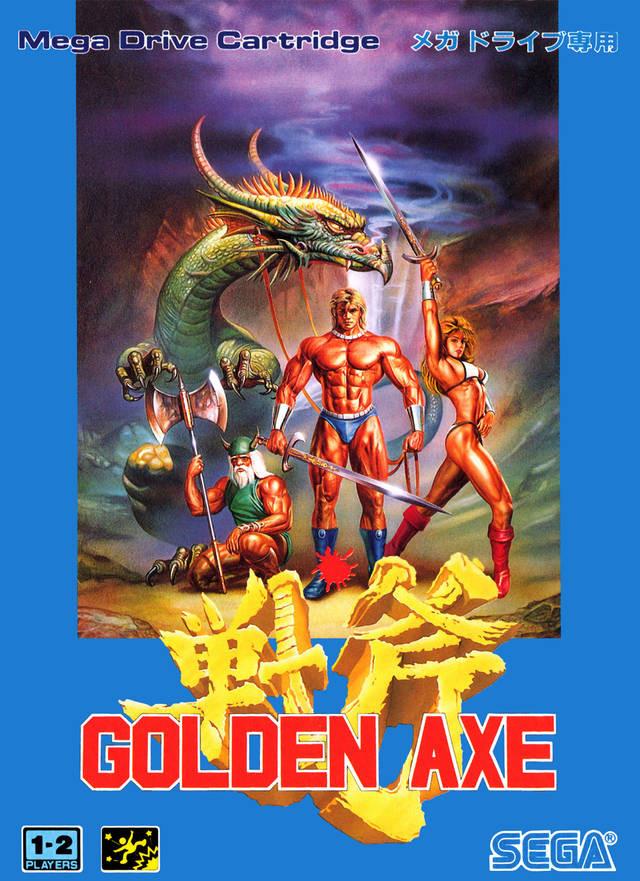 Golden Axe Mega Drive
