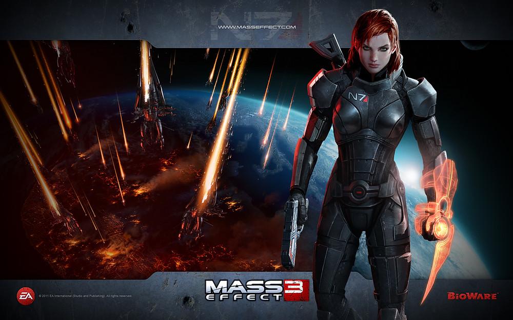Mass Effect 3, FemShep