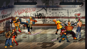 Streets of Rage 4 four-player co-op
