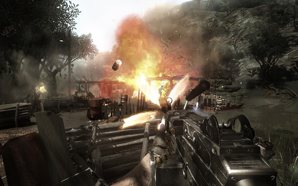 Far Cry 2 Physics Propagating Fire