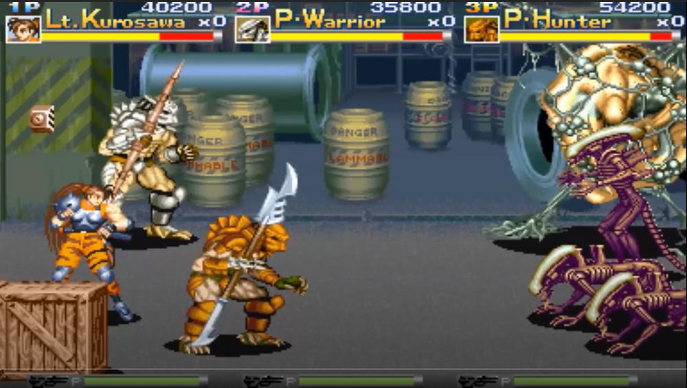 Aliens vs Predator Arcade