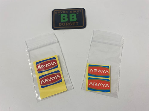 ARAYA RIM DECAL/STICKER