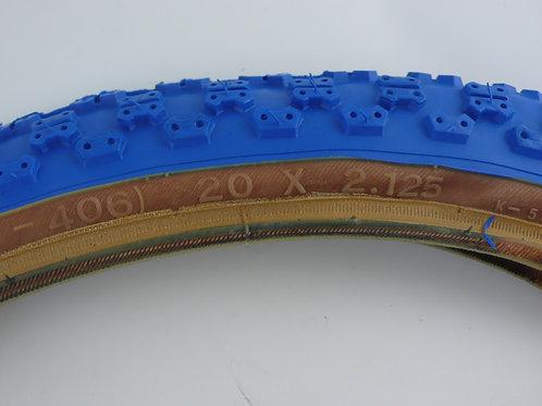 KENDA COMP3 TYRE 20 X 2.125 [BLUE]