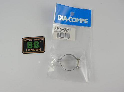 DIA COMPE CABLE CLIP [BLACK]