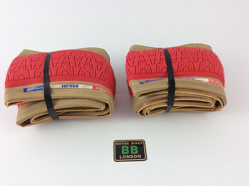 PANARACER HP406 TYRE KEVLAR (RED)