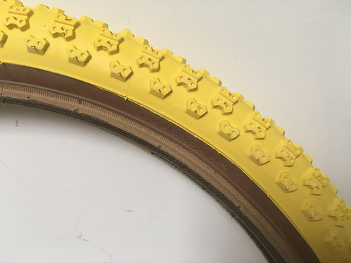 KENDA COMP3 TYRE 20 X 2.125 [YELLOW]