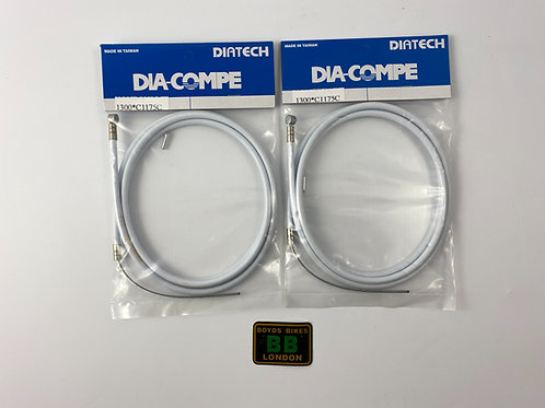 DIA COMPE BRS CABLE [WHITE PAIR]