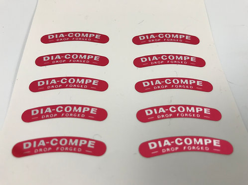 DIA COMPE 610 750 Brake Calliper Decal Sticker