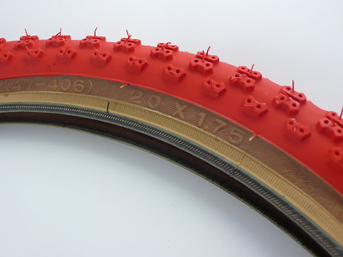 KENDA COMP3 TYRE 20 X 1.75 [RED]