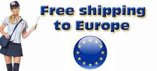 Free shipping to Europe.